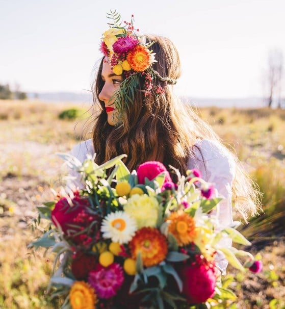 13 Real-Girl Brides Who Said Yes to a Bold Lip