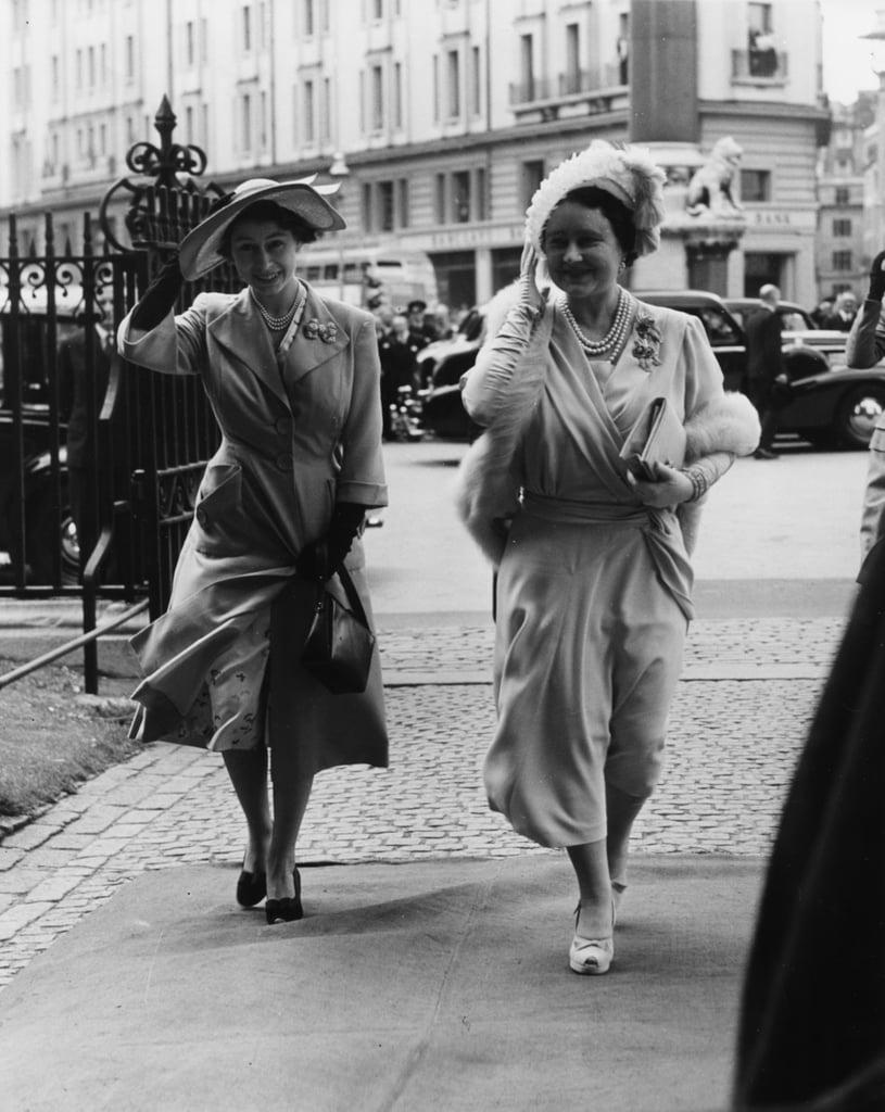 Lady Caroline Montagu-Douglas-Scott and Ian Bedworth Gilmour, 1951