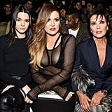 Kendall Jenner, Khloé Kardashian, and Kris Jenner