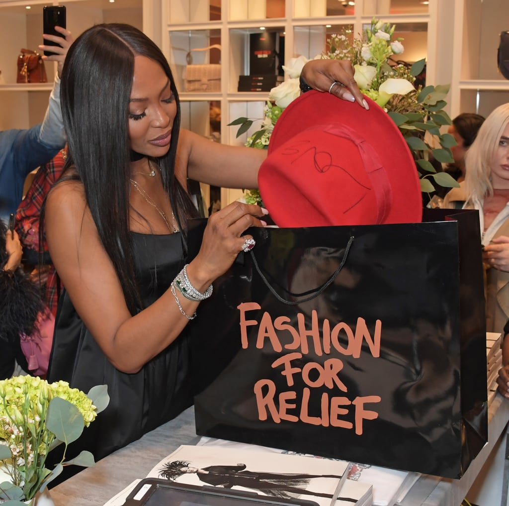 Naomi Campbell's Fashion For Relief Charity Pop-Up 2019 | POPSUGAR Fashion UK