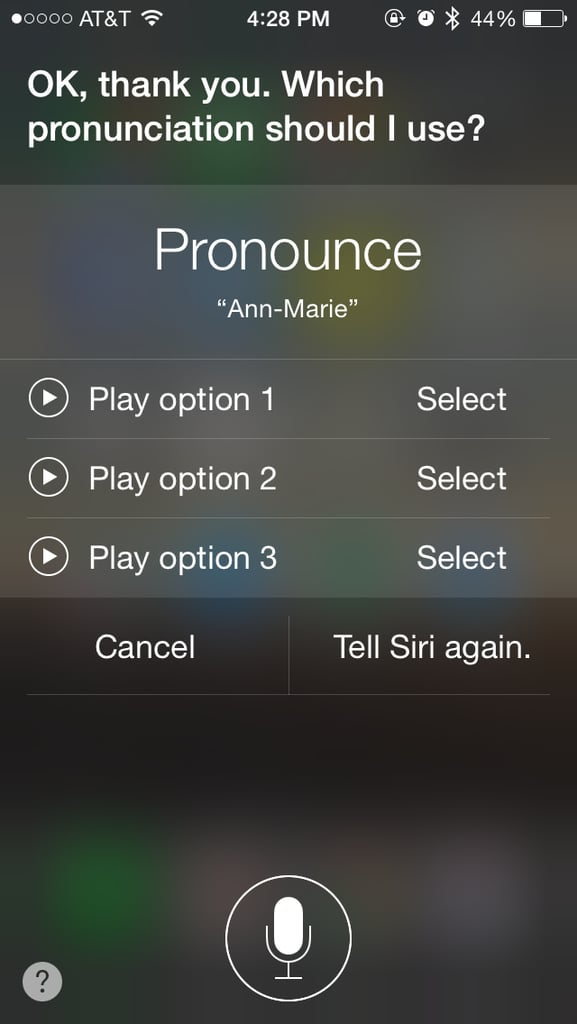 Teach Siri Correct Pronunciation