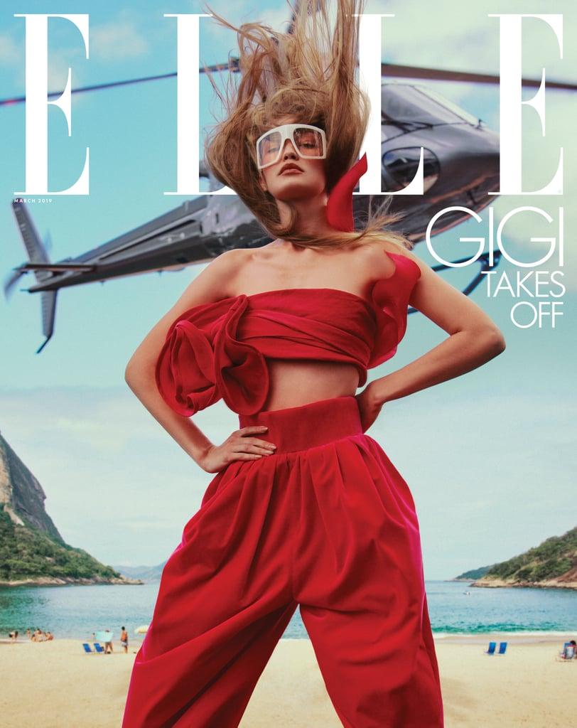 Gigi Hadid Elle Magazine Pictures March 2019