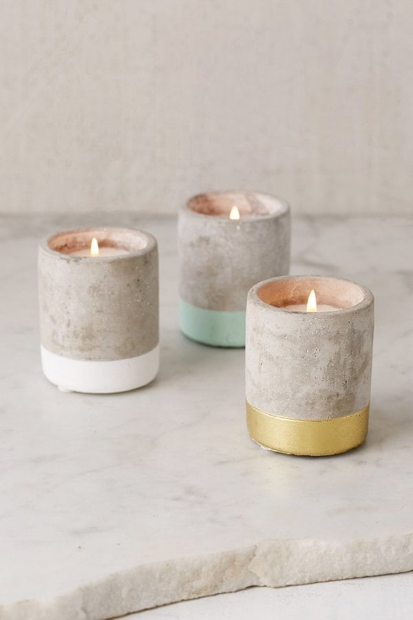 Paddywax Small Concrete Candle ($14)
