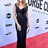 Jennifer Aniston Black Christian Lacroix Dress