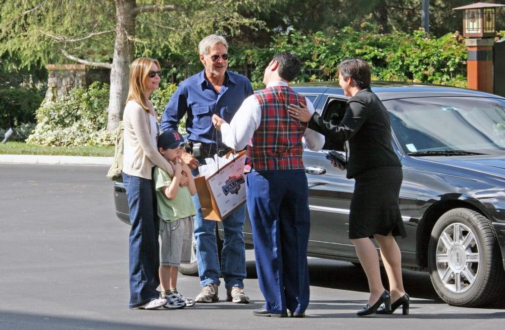 Calista Flockhart and Harrison Ford went on a real-life ...