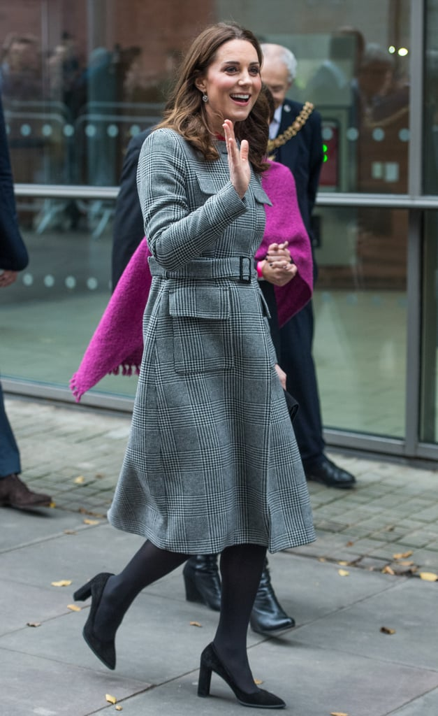 Kate Middleton's Hiding Some Christmas Cheer Underneath This Coat