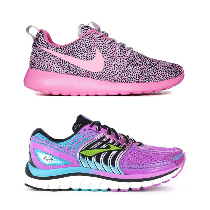 Bright Running Shoes Trend