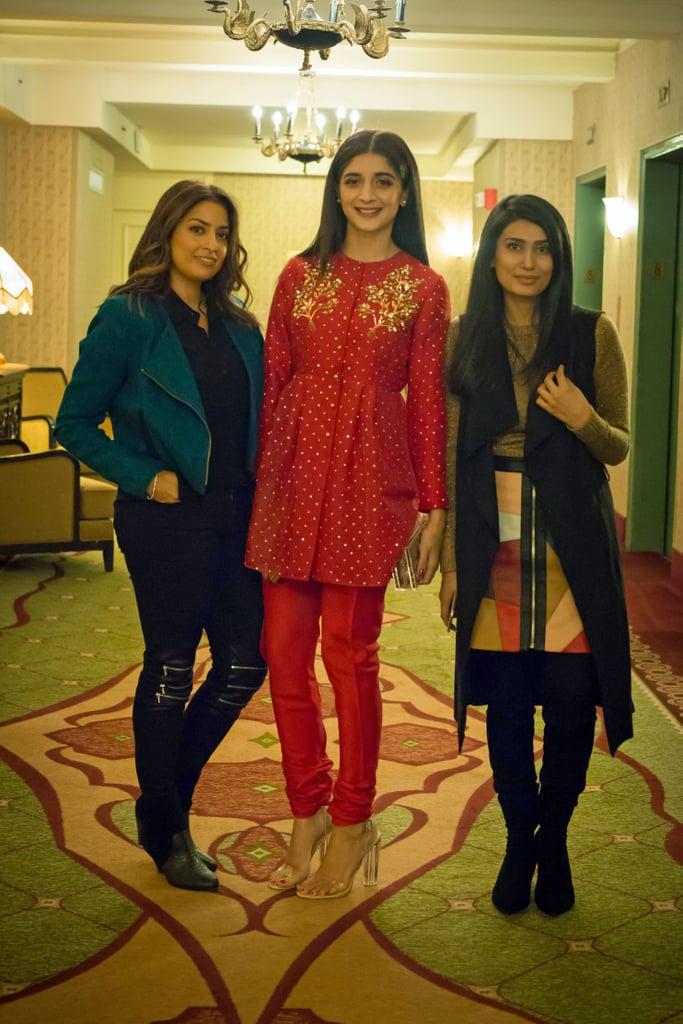 Karuna Chani, Mawra Hocane, and Ania Fawad