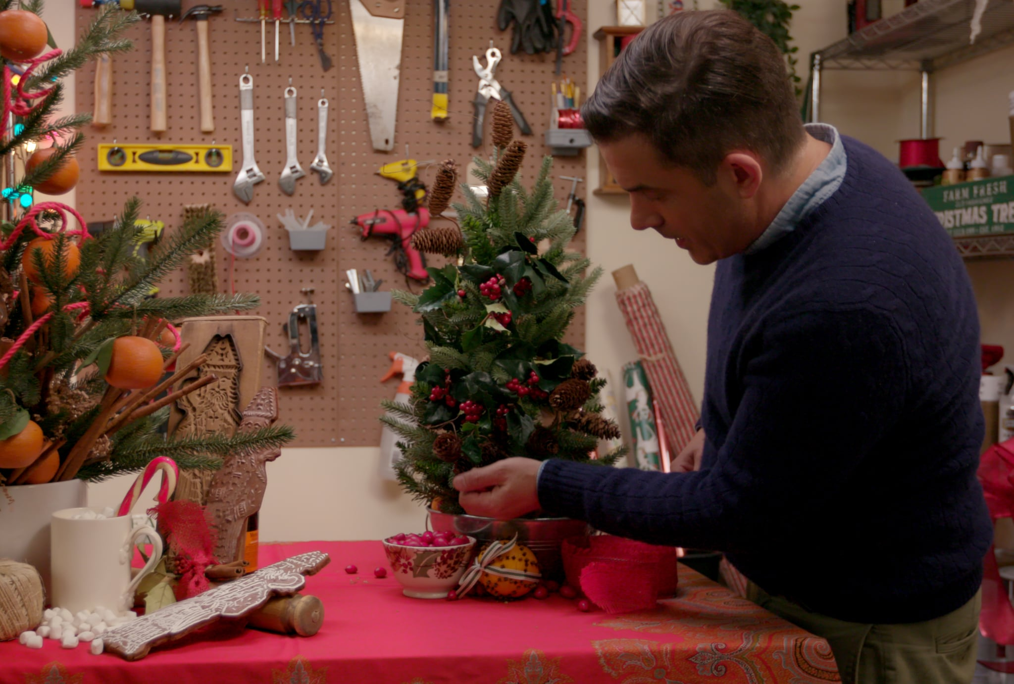 Holiday Home Makeover With Mr. Christmas | Netflix Is Starting the Holidays  Early With These New Movies and TV Shows | POPSUGAR Entertainment Photo 6