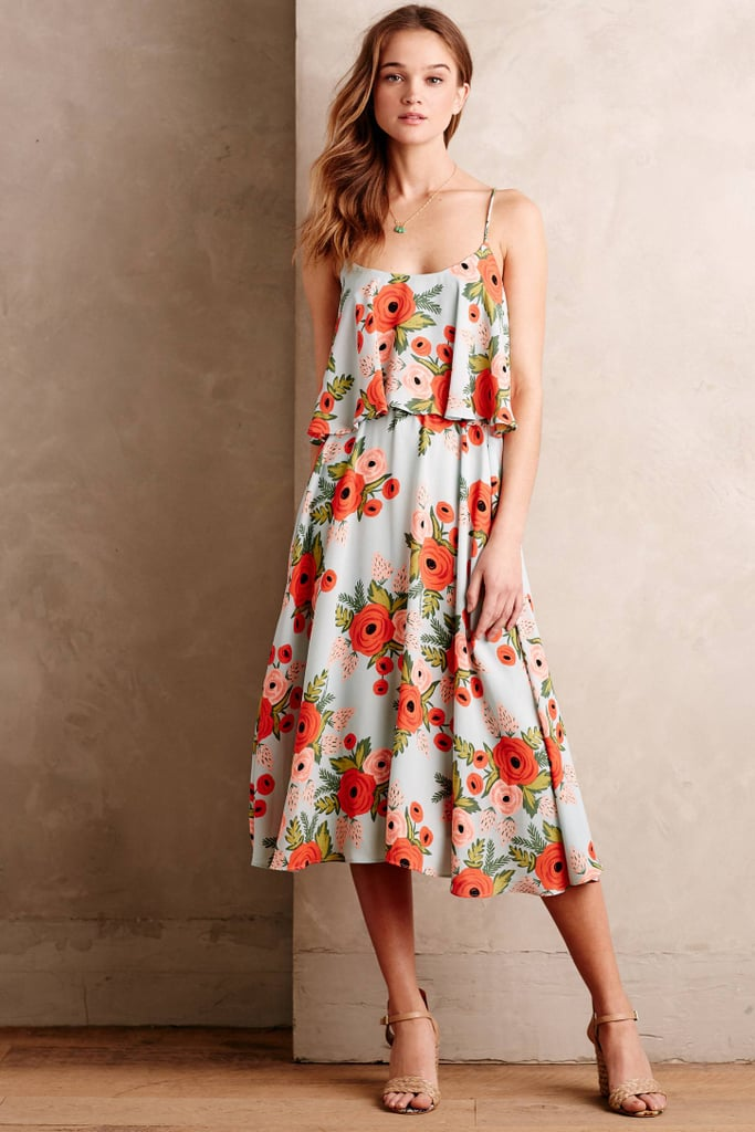 Paper Crown + Rifle Paper Co. poppy field dress ($198)