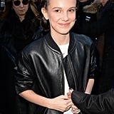 Millie Bobby Brown at New York Fashion Week in 2017