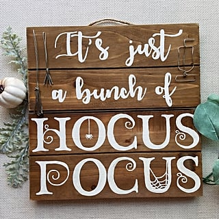 Hocus Pocus Home Decor From Etsy