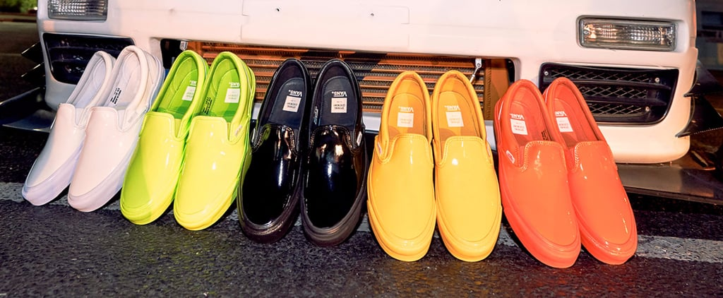 There's No Way These New Shiny Vans Won't Brighten Up Your Day