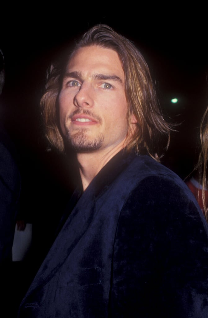Tom cruise had some long locks in november 1994 for the interview tom cruise had some long locks in november 1994 for the interview with the vampire premiere urmus