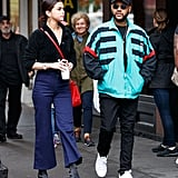 The Weeknd Wearing the Exact Same Jacket Back in September