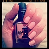 Alison trialled Kit Cosmetic's new Rose Macaroon polish. When it dries, it smells exactly like... rose macaroons! Clever.