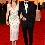 Jessica Biel was on the arm of Justin Timberlake for the Met Gala.