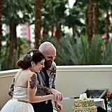 Tropical Las Vegas Wedding