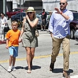 Reese Witherspoon has a family Sunday.