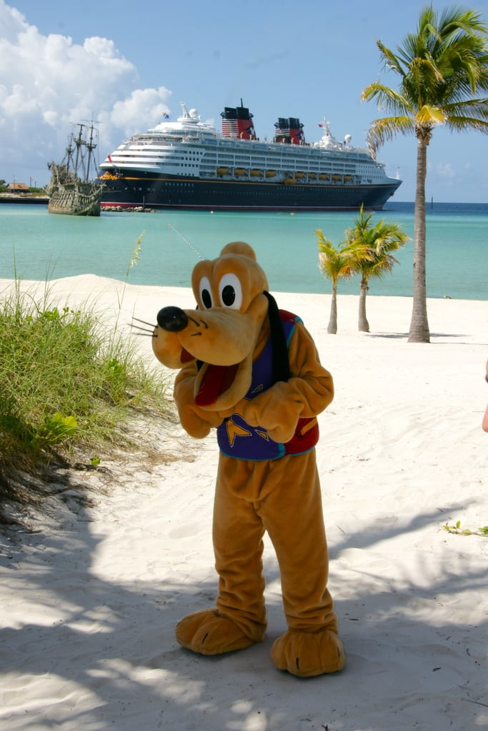 Disney characters will join you on the island.