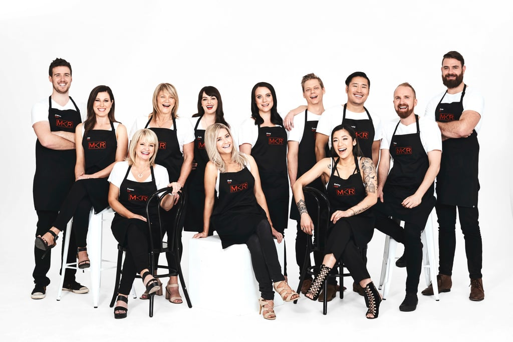 My kitchen rules 2017 meet the contestants popsugar for Y kitchen rules 2018