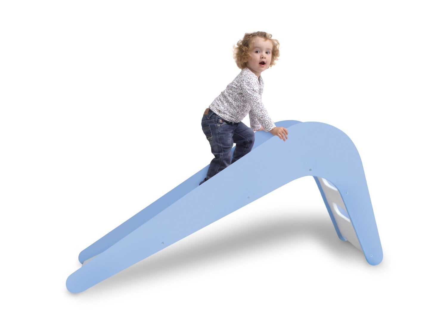 Jupiduu Blue Whale Slide (He's Really Getting This One!)