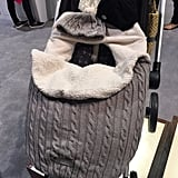 JJ Cole Cable-Knit Footmuff