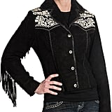 Scully Embroidered Suede Jacket