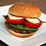 Caprese Vegetable Burger