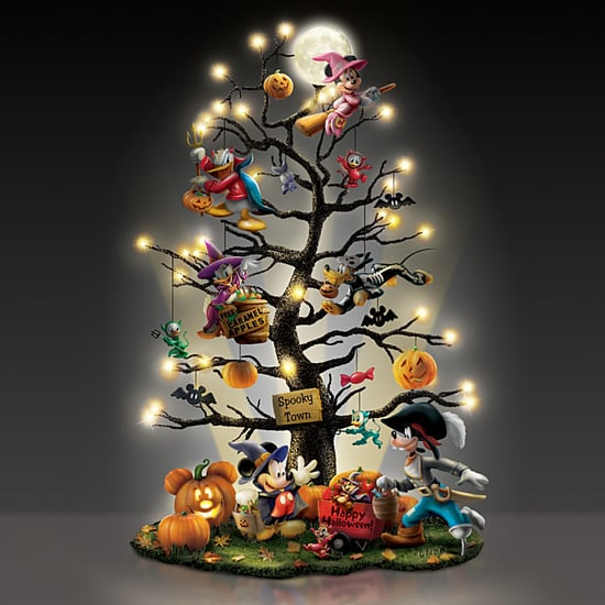 This Disney Tabletop Halloween Tree Lights Up!