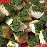 Green Gobble-'Ems Garlic Bread Chunks