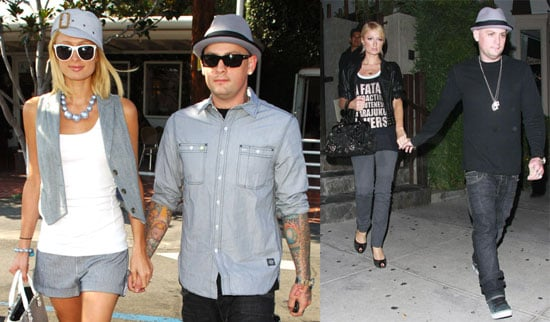 Photos of Paris Hilton and Benji Madden Out in LA