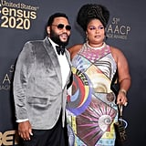 Anthony Anderson and Lizzo at the 2020 NAACP Image Awards
