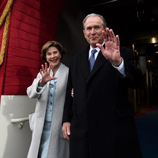 How Bush Avoided Endorsing Donald Trump Inauguration Speech