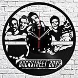 Backstreet Boys Vinyl Record Wall Clock