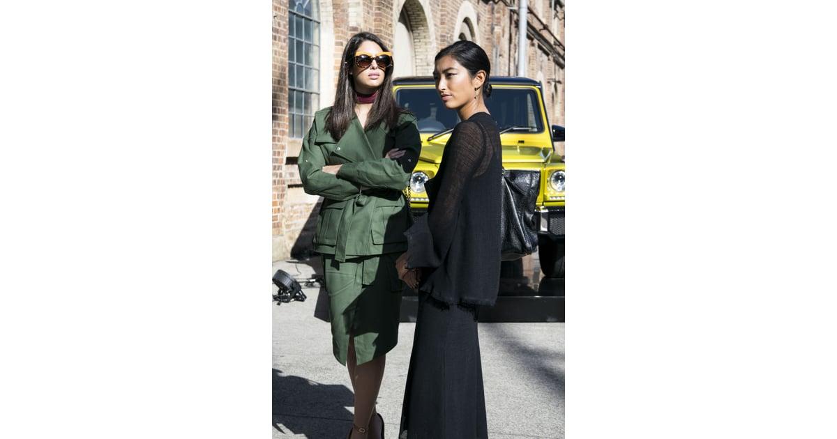 Australian Fashion Week 2016 Street Style Trend Popsugar