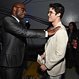 Pictured: Barry Jenkins and Darren Criss