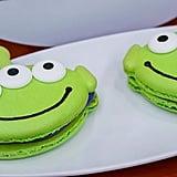 Green Alien Macaron