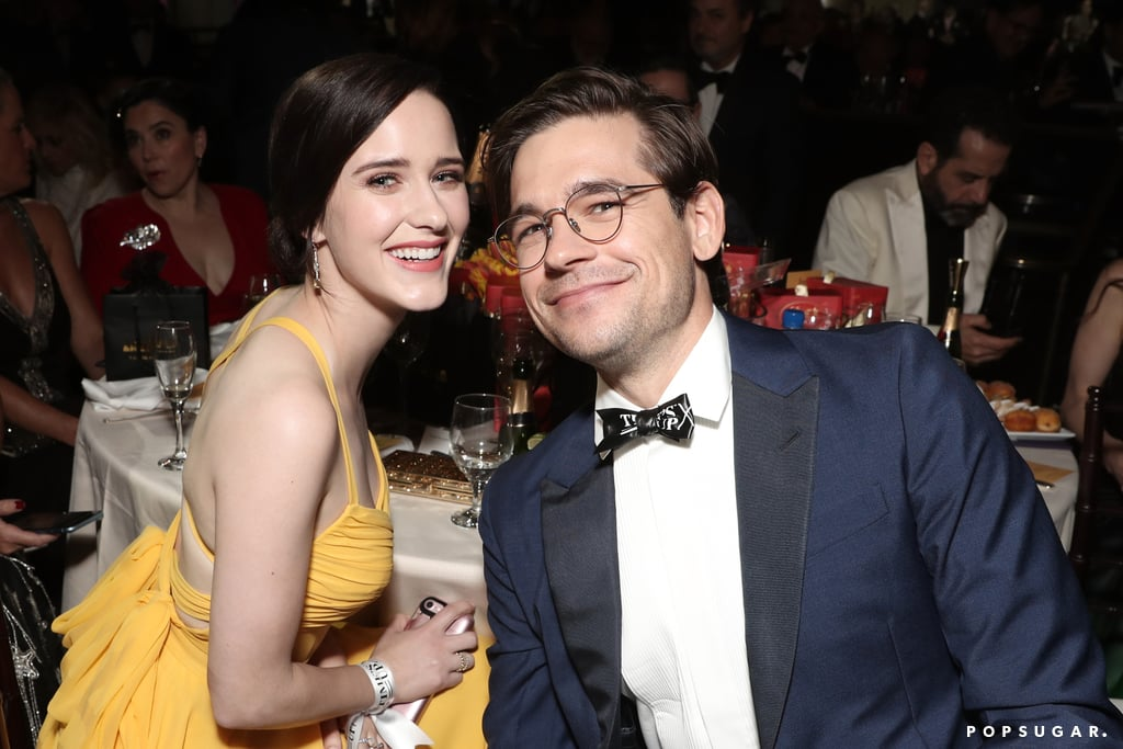 Pictured: Rachel Brosnahan and Jason Ralph