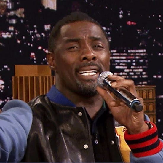 Idris Elba Singing on Jimmy Fallon Video