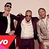 """Blurred Lines"" by Robin Thicke featuring T.I. and Pharrell Williams"