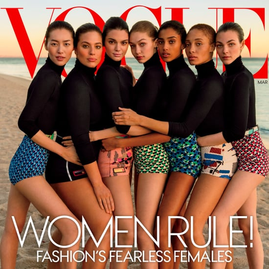 Vogue Model Cover March 2017