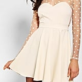 Sweet details and a fit-and-flare cut make this Urban Outfitters Coincidence & Chance Polka Dot Mesh Dress ($79) a perfect option for the girlie girl.