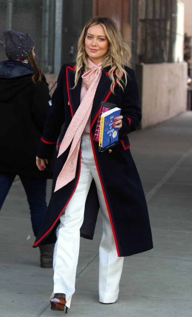 Hilary Duff's Black Gucci Coat on Younger