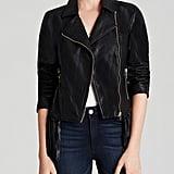 Glamorous Faux Leather Fringe Jacket