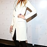 Blake Lively attended NYFW.