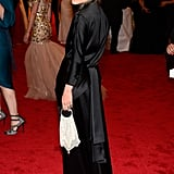 Mary-Kate Olsen went with a dramatic look in The Row.