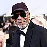 Pictured: Morgan Freeman