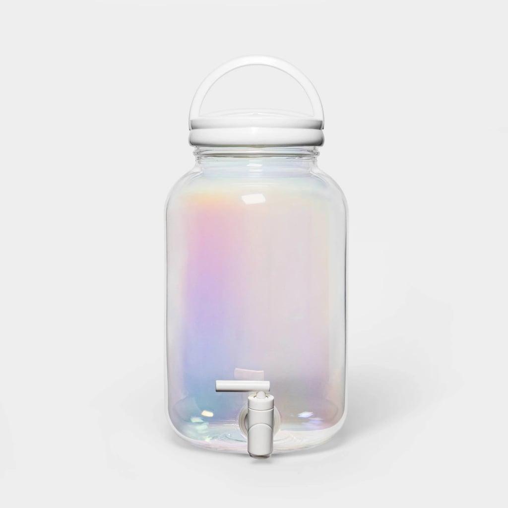 Sun Squad 146oz Plastic Iridescent Beverage Dispenser