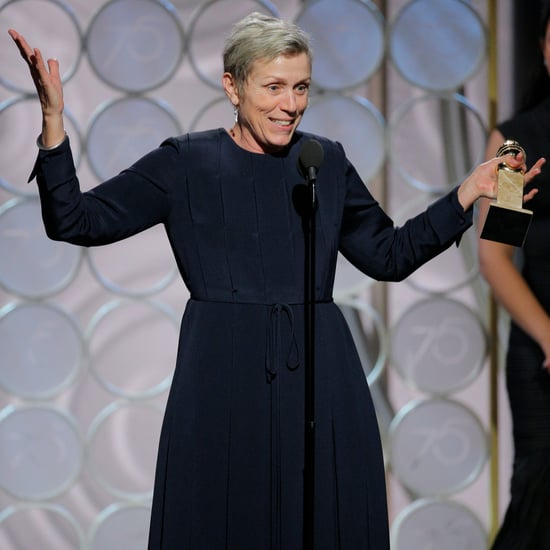 What Did Frances McDormand Say in Her Golden Globes Speech?